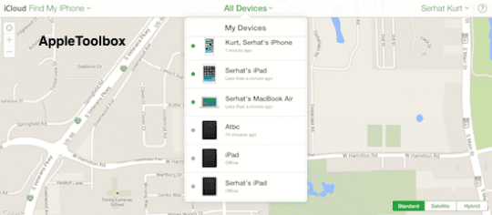 select all devices