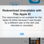 "Family Sharing not working: ""Redownload Unavailable with This Apple ID"", fix"