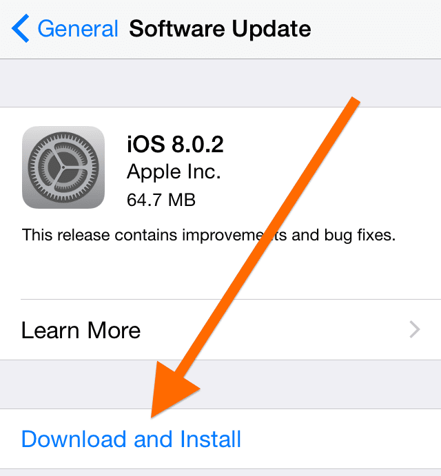 iOS 8 0 2 available: How to update - AppleToolBox