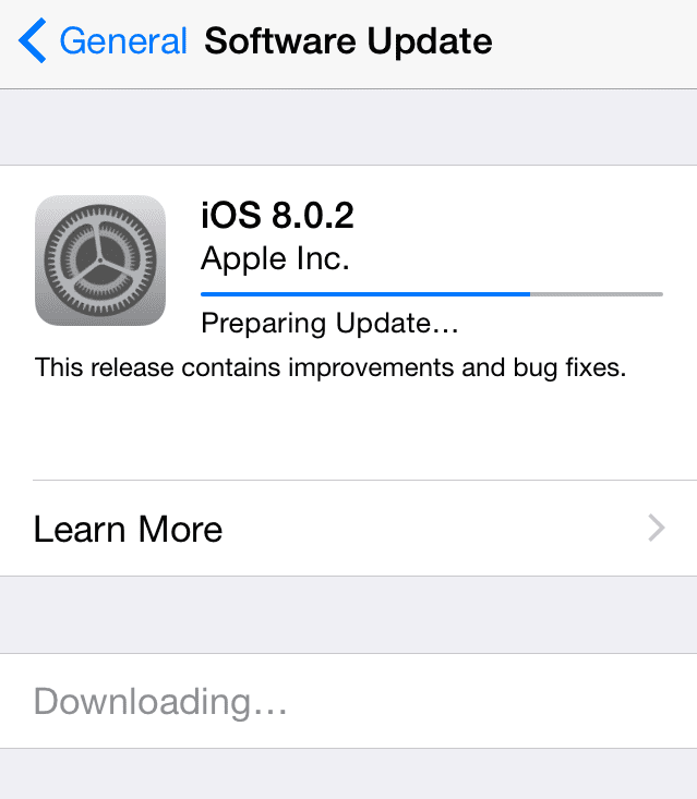 iOS download and install
