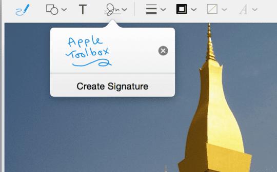 Signature Saved