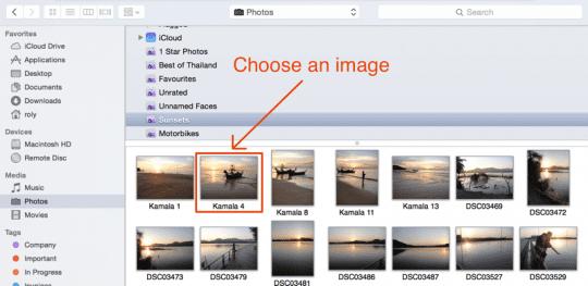 Choose an Image
