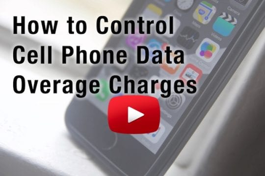 Control and limit Cellular charges on iPhone