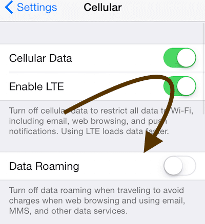 turn data off iphone how to amp limit cellular data use on your iphone or 5775