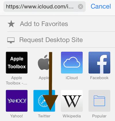 request desktop version of a site