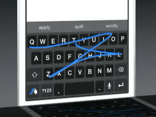 Swype Keyboard iOS 8