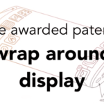 Wrap around display patent awarded to Apple