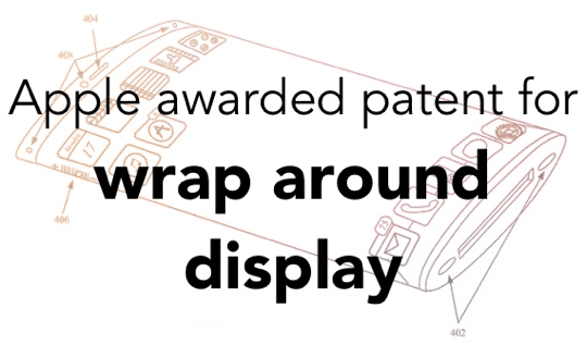 Apple Patent Wrap Around Display - Main Pic
