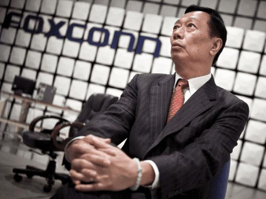 Foxconn iPhone 6 - CEO Terry Gou