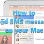 How to send and receive SMS messages on OS X Yosemite