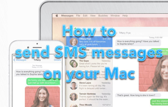 OS X Yosemite - SMS - Main Pic