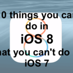10 things you can do in iOS 8 that you couldn't do in iOS 7