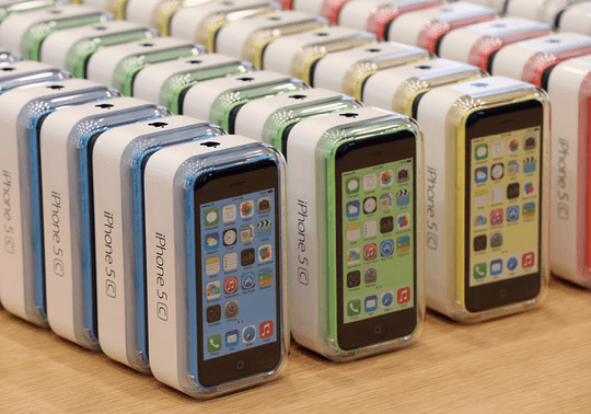 iPhone 5c - Boxes