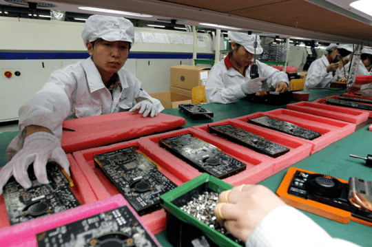 iPhone 6 Manufacturing