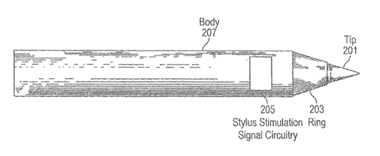 Apple Patent - Stylus