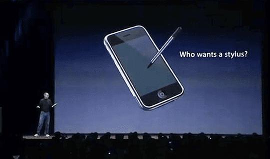 Communicating Stylus - Steve Jobs