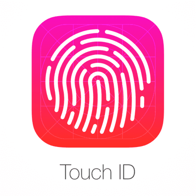 Fingerprint Sensor Touch ID Logo