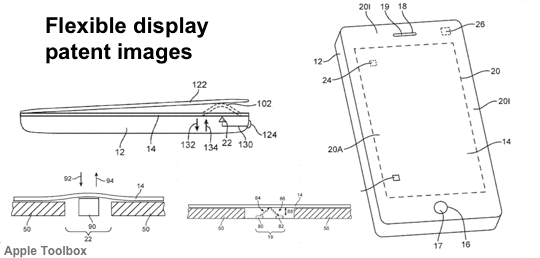 Flexible Display - Patent Images