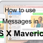 Mastering Messages in OS X Yosemite