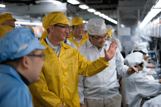 iPhone Manufacturing - Tim Cook