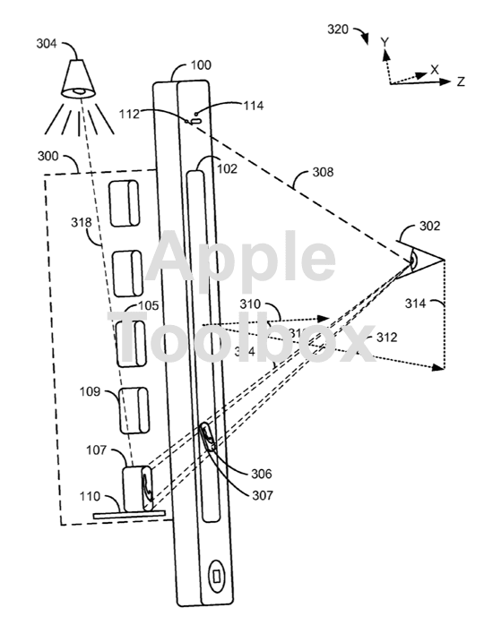 Apple Patent Application For 3d Camera And Ui For Carplay And Apple