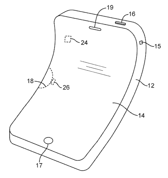 Apple Patent - Flexible Devices 1