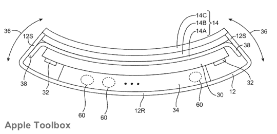 Apple Patent - Flexible Devices 2