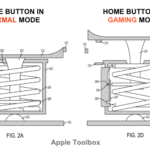 Apple invents a new Home Button which also functions as a Joystick