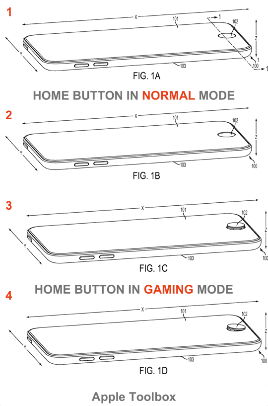 Home Button - Transition