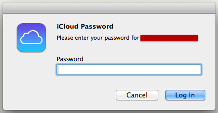 Mac Keep asking iCloud iCloud login loop bug