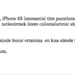 Apple postponed iPhone 6s sales in Turkey due to Ankara bombings