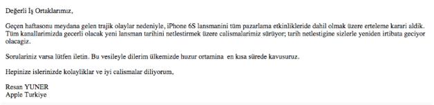 Turkey Apple