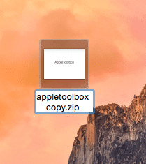 appletoolbox zip file