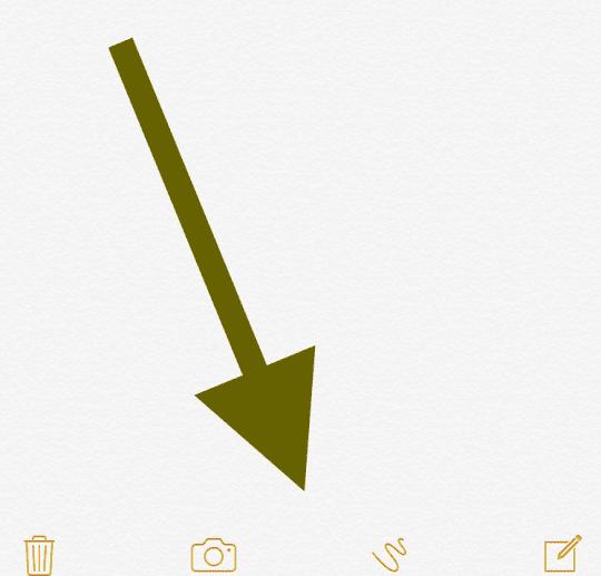 notes app draw