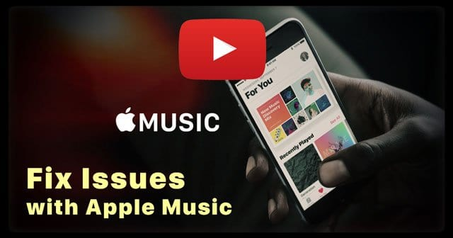 Apple Music Not Working