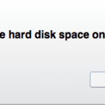 Need more hard disk space on this Mac? Fix