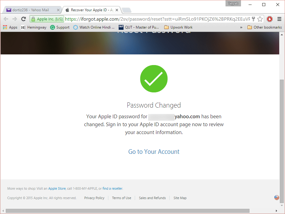 what to do if i forgot my apple id password