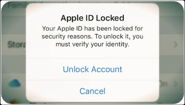 How to fix your disabled Apple ID?