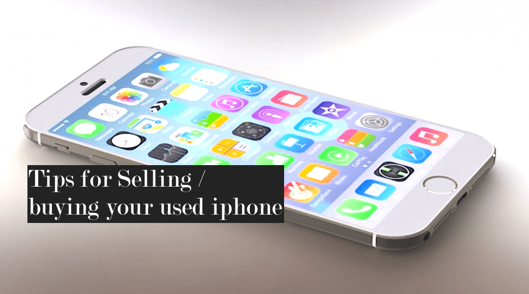 how to delete your iphone before selling it