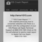 How to Fix iOS Crash Report Message on your Ipad or Iphone