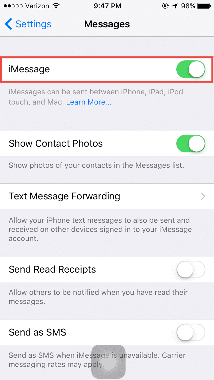 how to get contacts off iphone