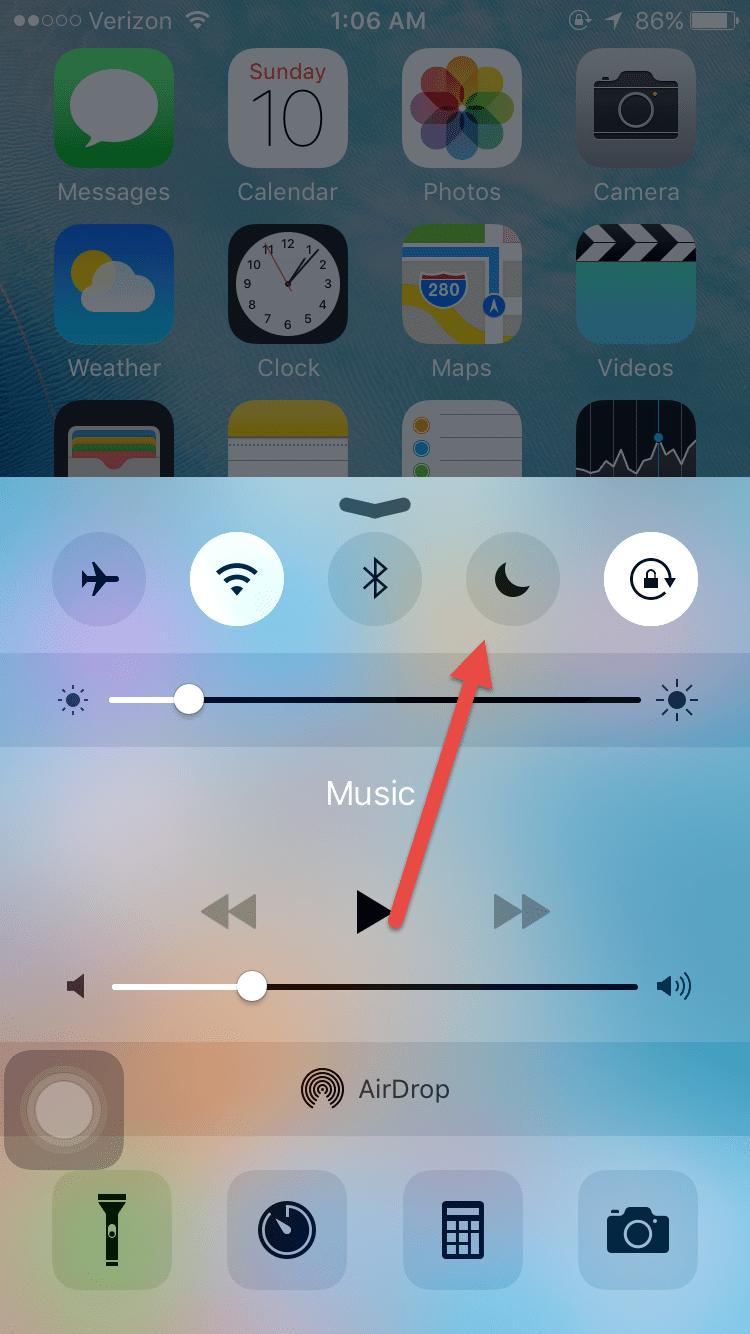 Почему экран на айфоне не переворачивается экран