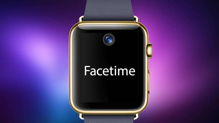 Apple Watch 2 FaceTime Camera