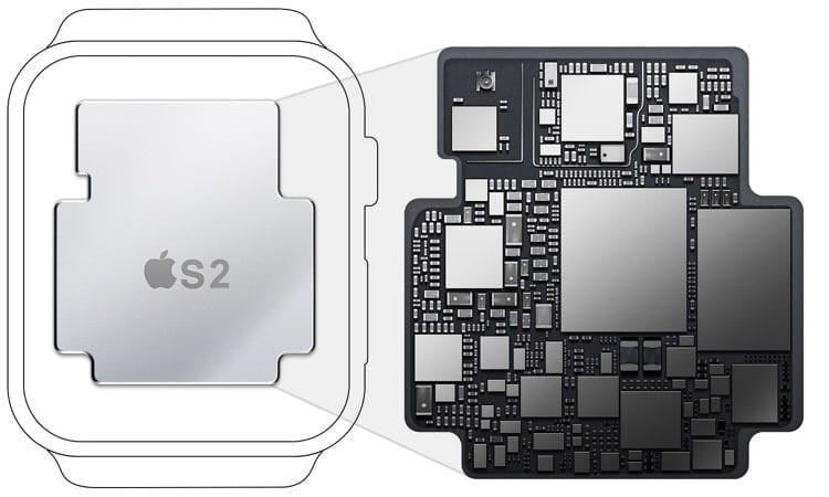 Apple Watch 2 S2 Chip