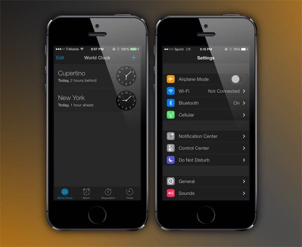 Dark Mode iOS Ten iOS 11 Features Every iPhone User Could Use
