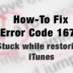Error code 1671, Stuck while restoring iTunes, Fix