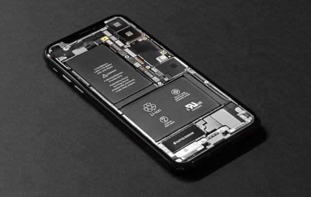 Internals of an iPhone X