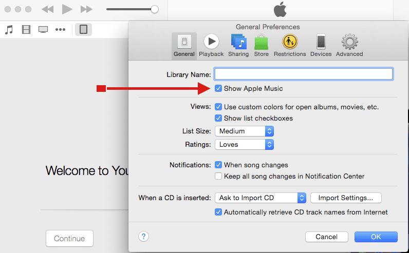 Remove Apple Music