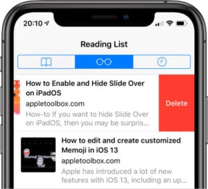 Can't clear the browsing history in Safari on your iPhone or