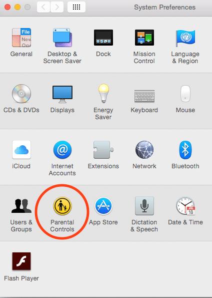 Parental Controls on Mac